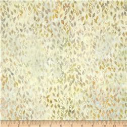Batavian Batiks Falling Leaves Light Gray/Green