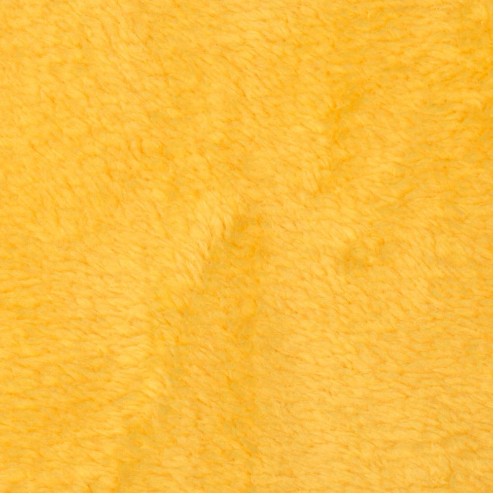 Whisper Coral Fleece Solid Yellow