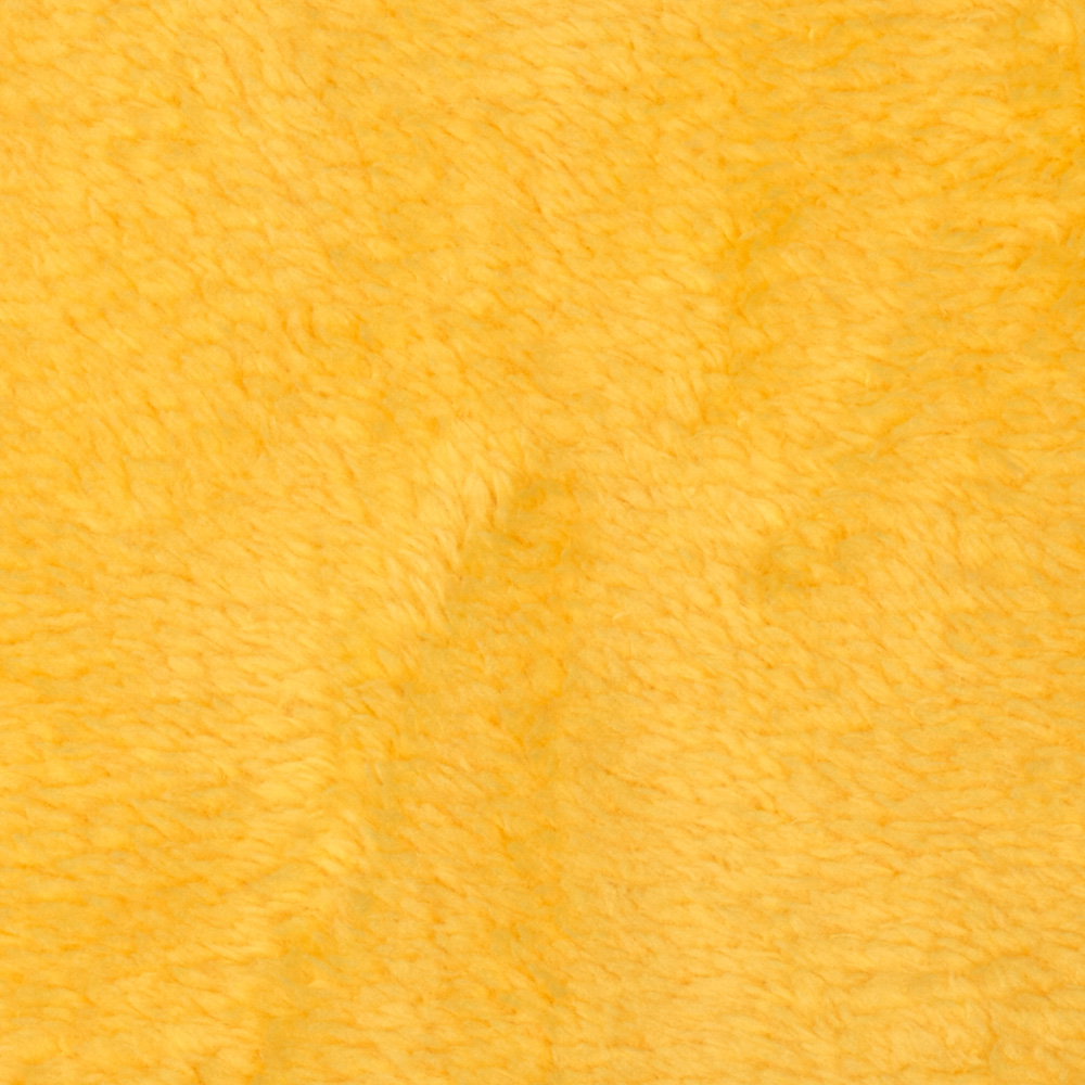 Whisper Coral Fleece Solid Yellow Fabric by Newcastle in USA