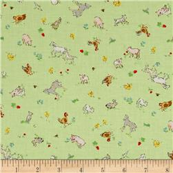 Country Days Small Animals Green