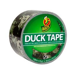 "Patterned Duck Tape 1.88"" x 10yd-Camo Skulls"
