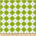 Remix Flannel Argyle Kiwi