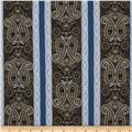 Border Companions Americana Paisley Brown/Blue