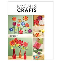 McCall's Dimensional Flowers Pattern M5869 Size OSZ