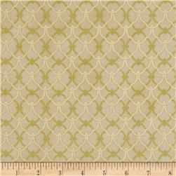 Alchemy Metallic Ironwork Cream/Gold Fabric