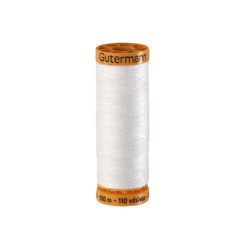 Gutermann Natural Cotton Thread 100m/109yds White