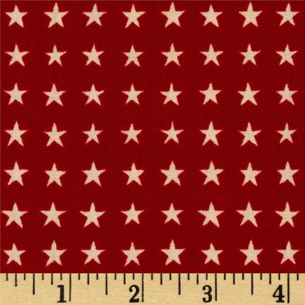 Love, Luck, & Liberty Liberty Star Dark Red