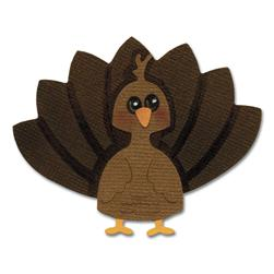 Sizzix Sizzlits Die Turkey #2 Medium