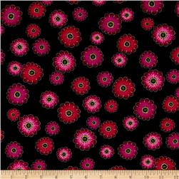 Kanvas Floral Philosophy Daisy Philosophy Black