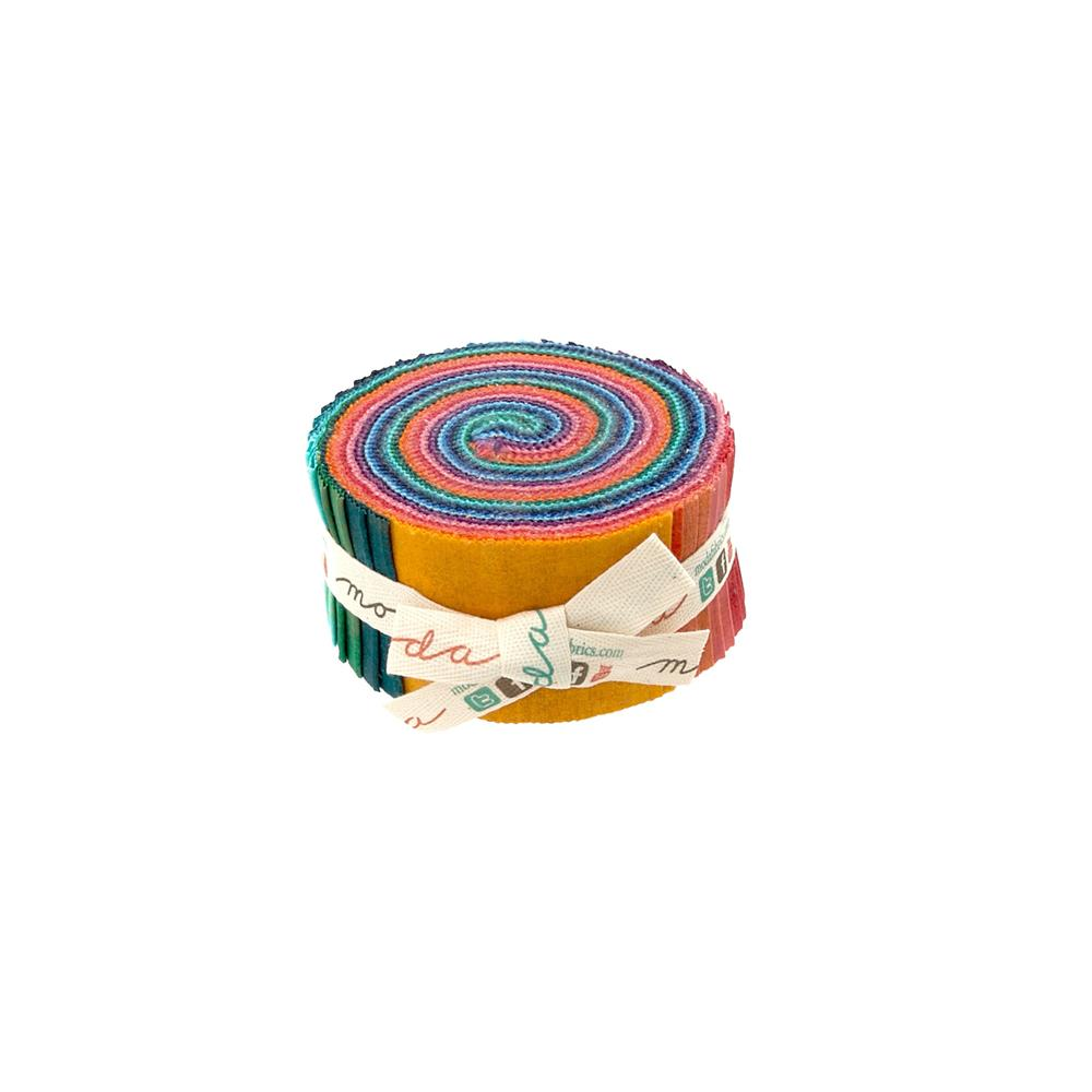 Moda Grunge 2 1/2'' Jelly Roll