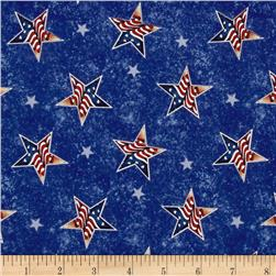 Jim Shore  Patriotic Stars Blue