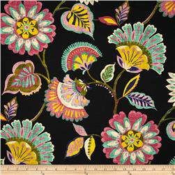 Swavelle/Mill Creek Ailey Floral Orchid Black