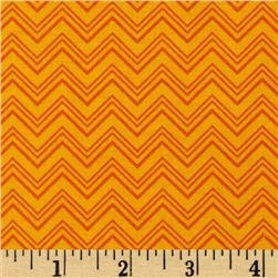 Silly Gilly & Friends Chevron Orange