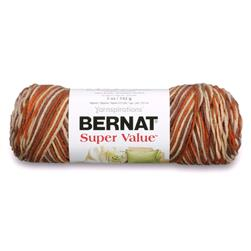 Bernat Super Value Ombre Yarn Adobe