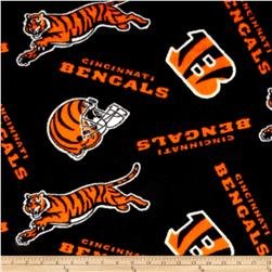 NFL Fleece Cincinnati Bengals Black/Orange