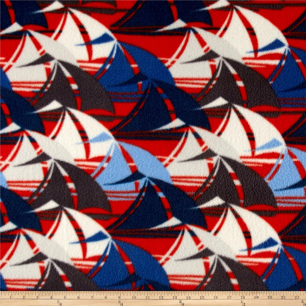 Sailboats Fleece Multi