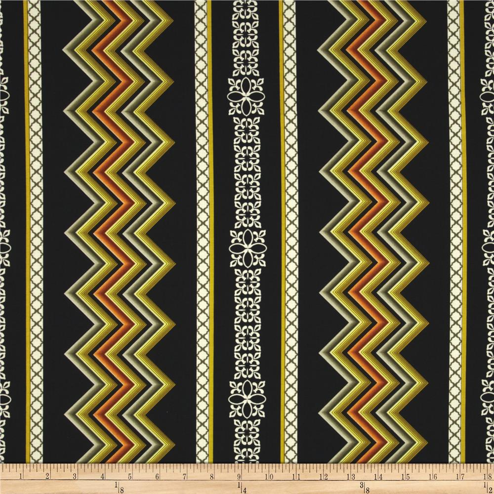 Wilderness Lodge Chevron Stripe Black