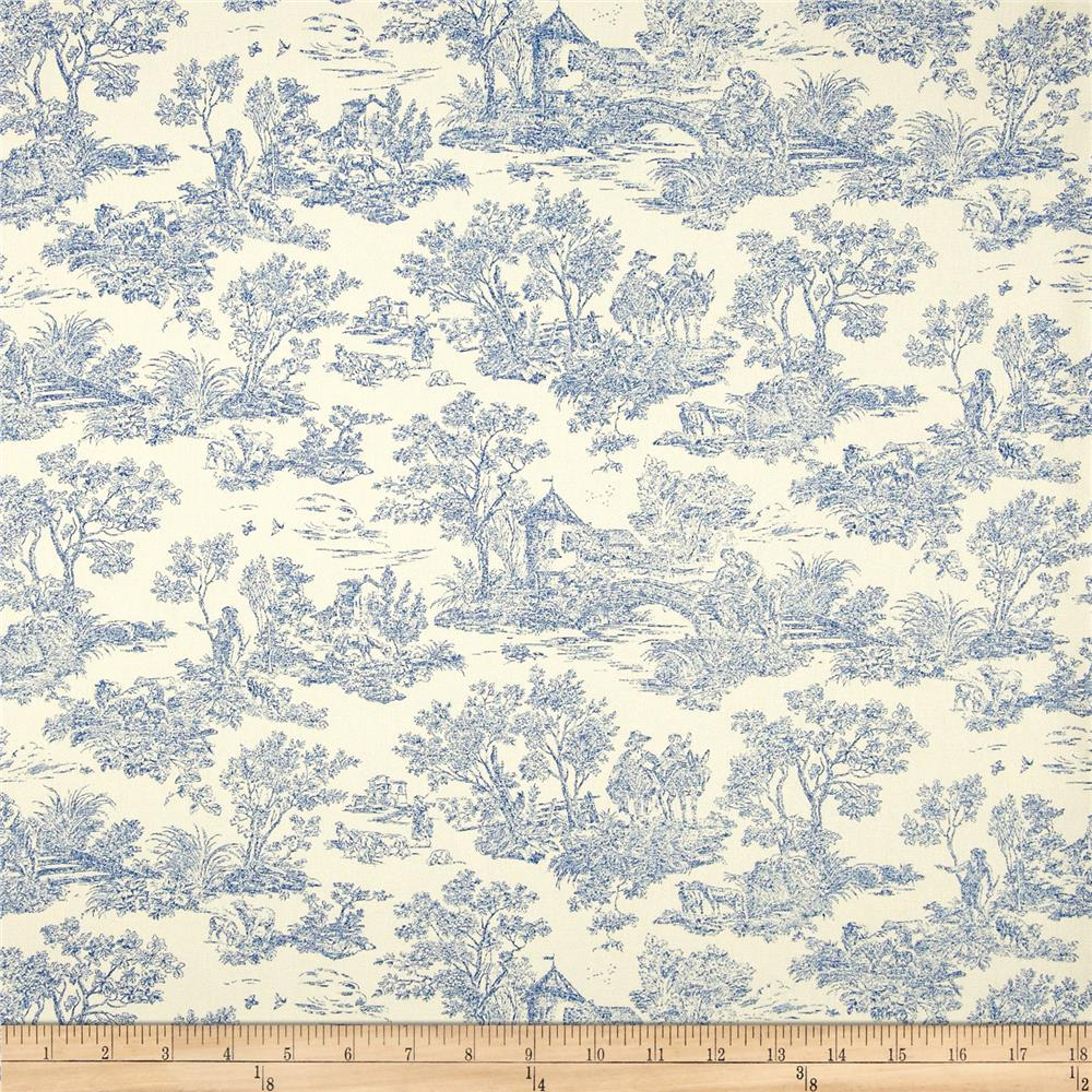 45'' Home Decor Nara Toile Denim