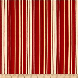 Believe In The Season Stripe Red