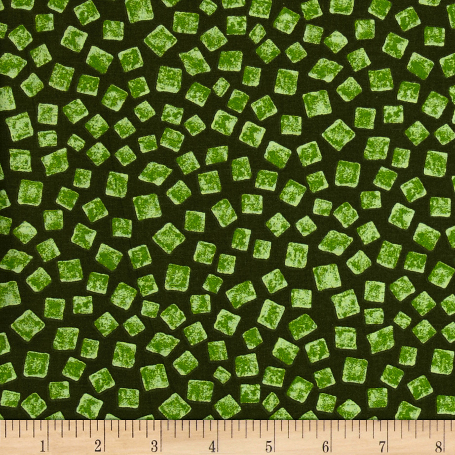 On the Rocks Olive Fabric by Santee in USA