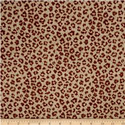 Jaclyn Smith Animal Print Blend Golden Berry Fabric