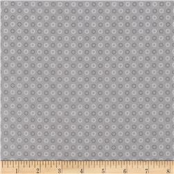 Timeless Treasures Wee Woodland Circles Grey