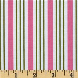 Song Bird Stripe Pink