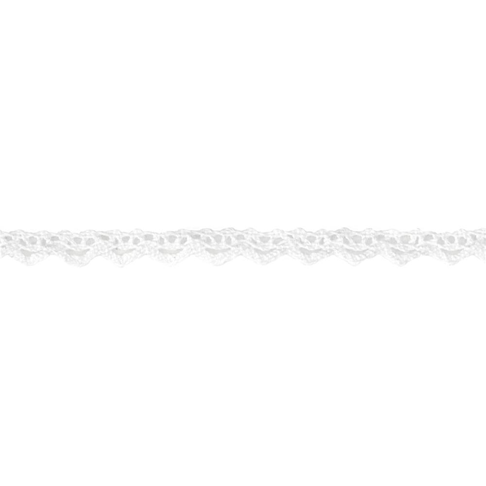 "1/4"" Crochet Trim White"