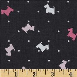 Michael Miller Scottie Toss Girl Fabric