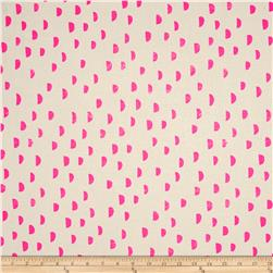 Cotton + Steel Printshop Moons Pink