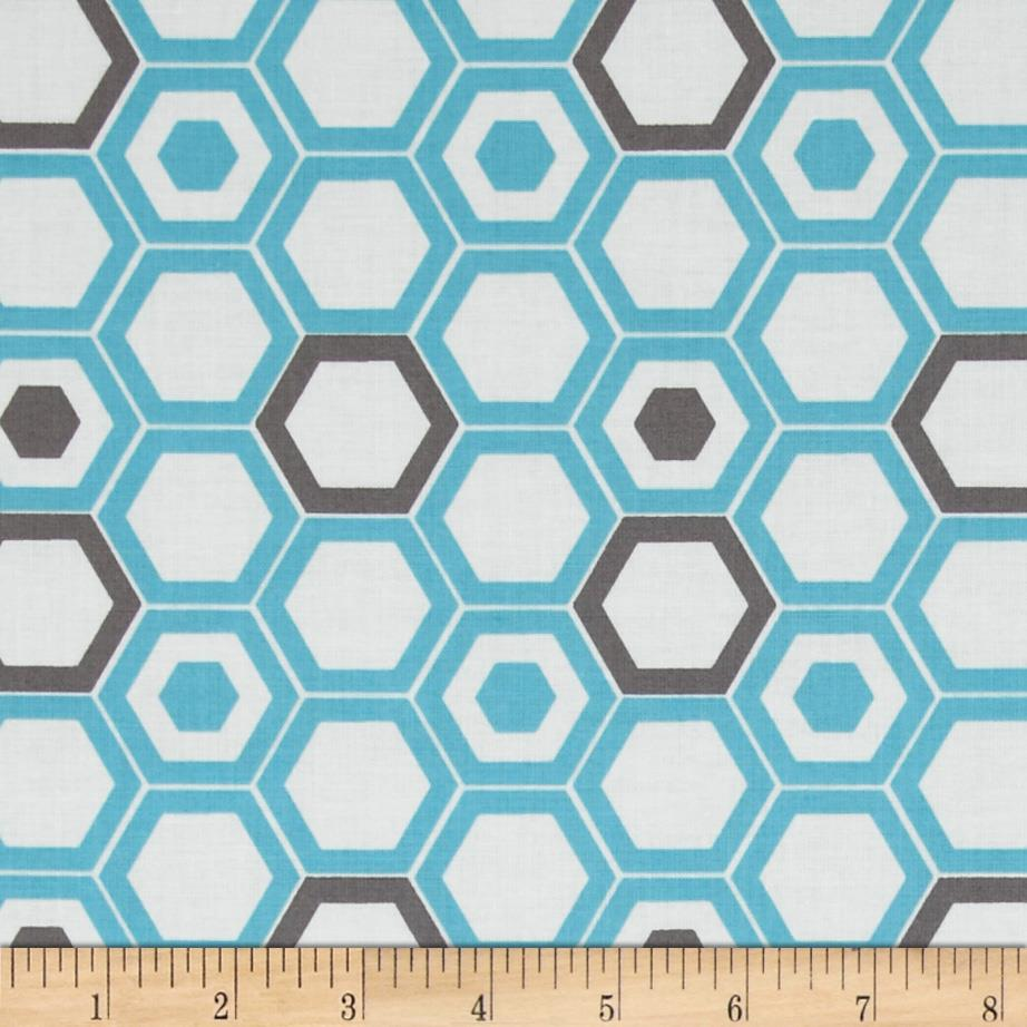Design Studio Hexagon Blue