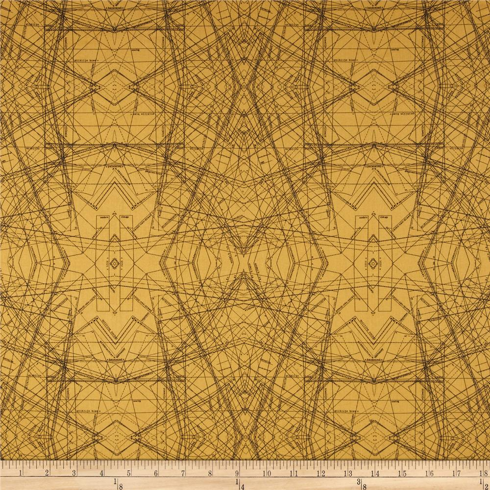 Art Gallery Indelible Voile Spirodraft Ocre