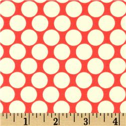 Amy Butler Lotus Full Moon Polka Dot Cherry