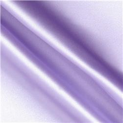 Poly Charmeuse Satin Lavender Fabric