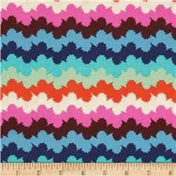 Amy Butler Violette Organic Stripe Midnight Fabric