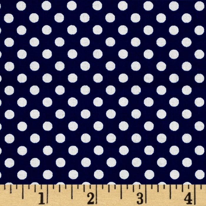 Spot On Mini Dots Navy