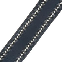 "French General 2.75"" Bardot Trim Indigo"