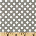 Riley Blake Dots Small Grey