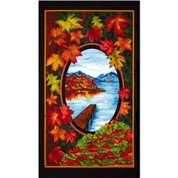 Fall Reflections 24 In. Panel Multi