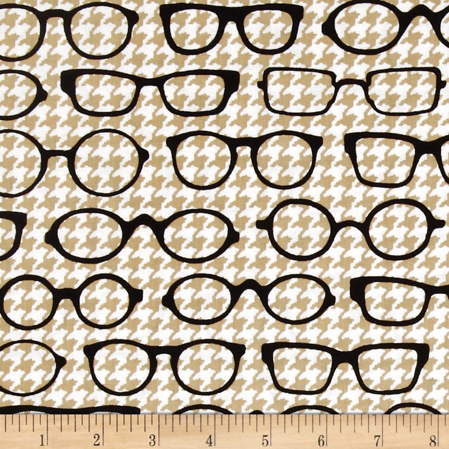 Fox and The Houndstooth Eyeglasses Tan