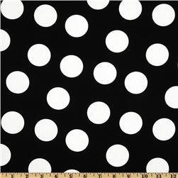 Pimatex Basics Jumbo Dot Black/White Fabric