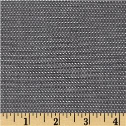 Kaufman Cotton Chambray Pin Dots Black