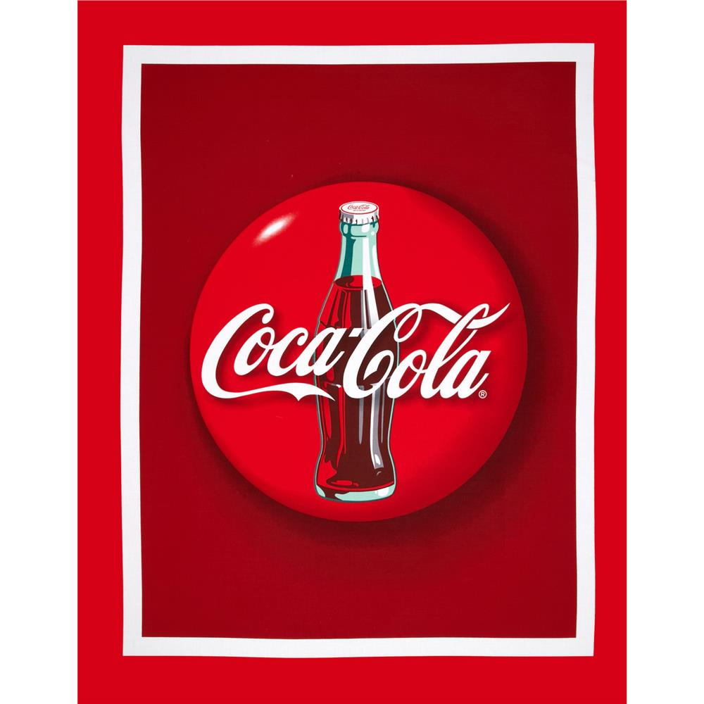 "Coca Cola Bottle 36"" Panel"