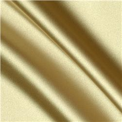 Debutante Stretch Satin Fabric Tiffany Gold