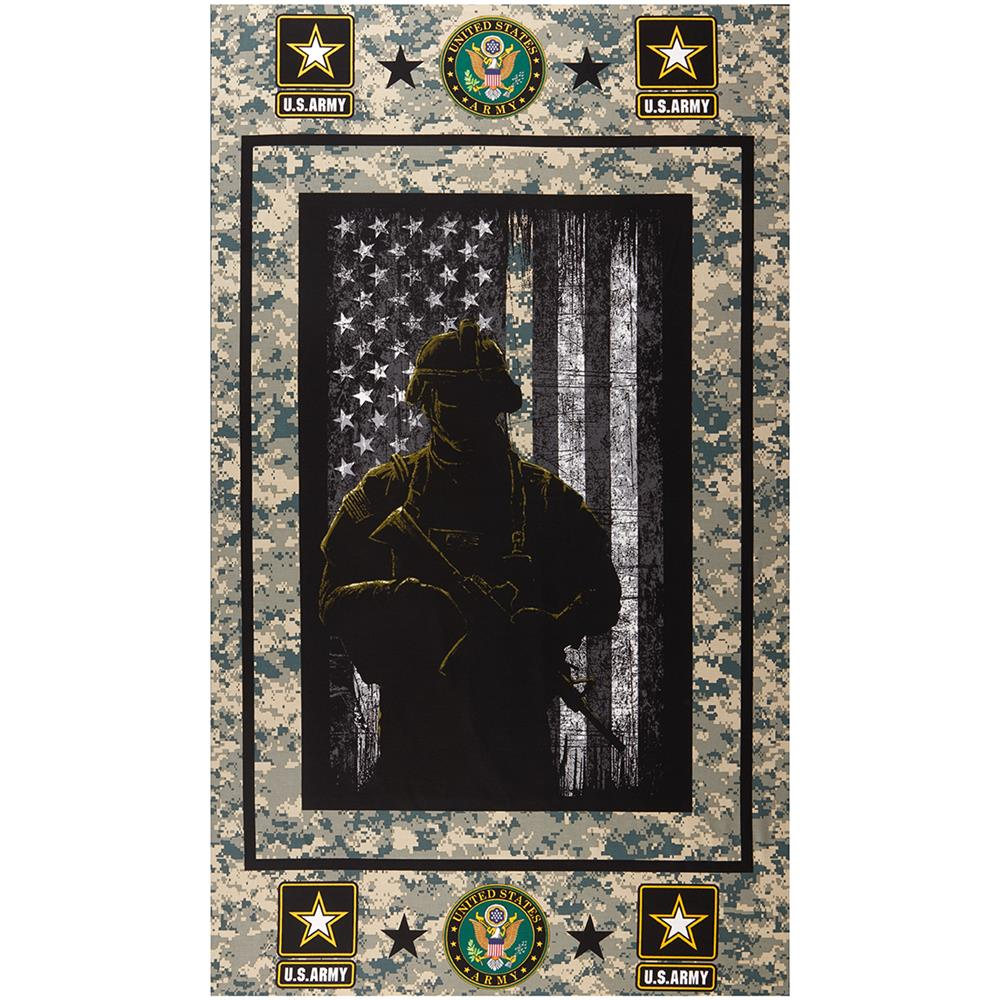 "Best Buy Military Discount >> Military Army Cotton 24"" Panel Multi - Discount Designer ..."