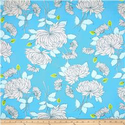Amy Butler Belle Chrysanthemum Blue