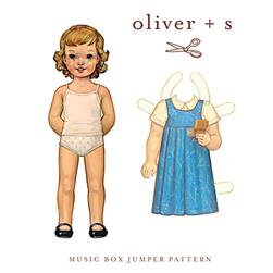 Oliver + S Music Box Jumper Pattern Sizes 6 Months - 4