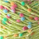 Bernat Dippity Dots Yarn (66228) Green