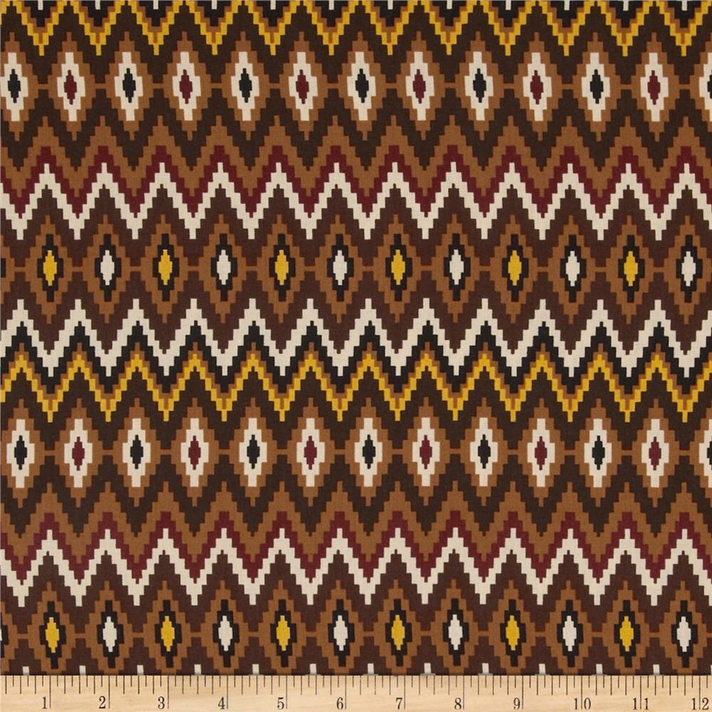 Mesa Verde Chevron Brown