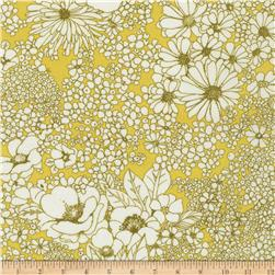 Kaufman Digitally Printed Stretch Poplin Scatter Oregano